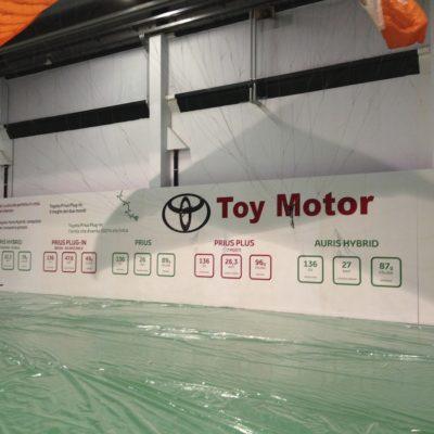 Allestimento Fiera Toy Motor