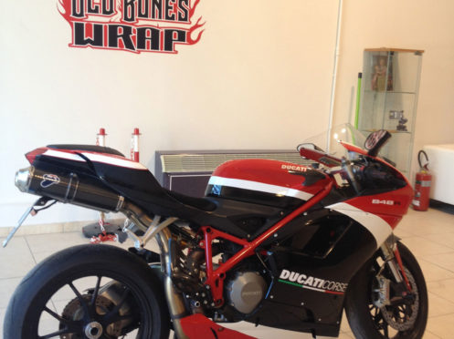 Decorazione Wrap Moto