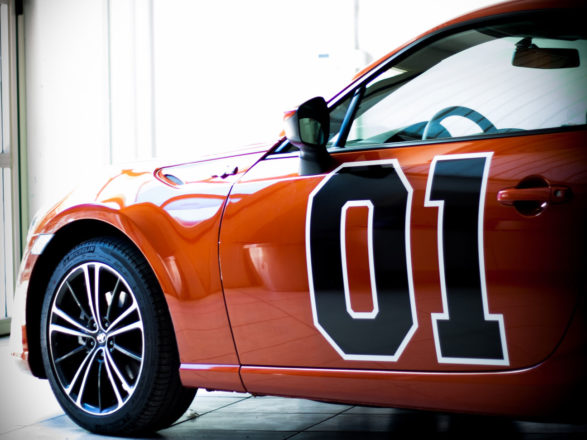 Toyota GT86 General Lee